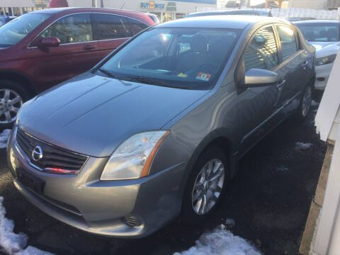 2011 Nissan Sentra for sale at UNION AUTO SALES in Vauxhall NJ