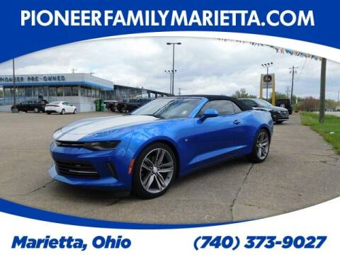 2017 Chevrolet Camaro for sale at Pioneer Family preowned autos in Williamstown WV