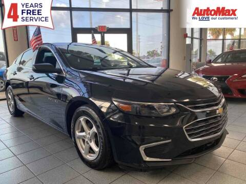 2017 Chevrolet Malibu for sale at Auto Max in Hollywood FL