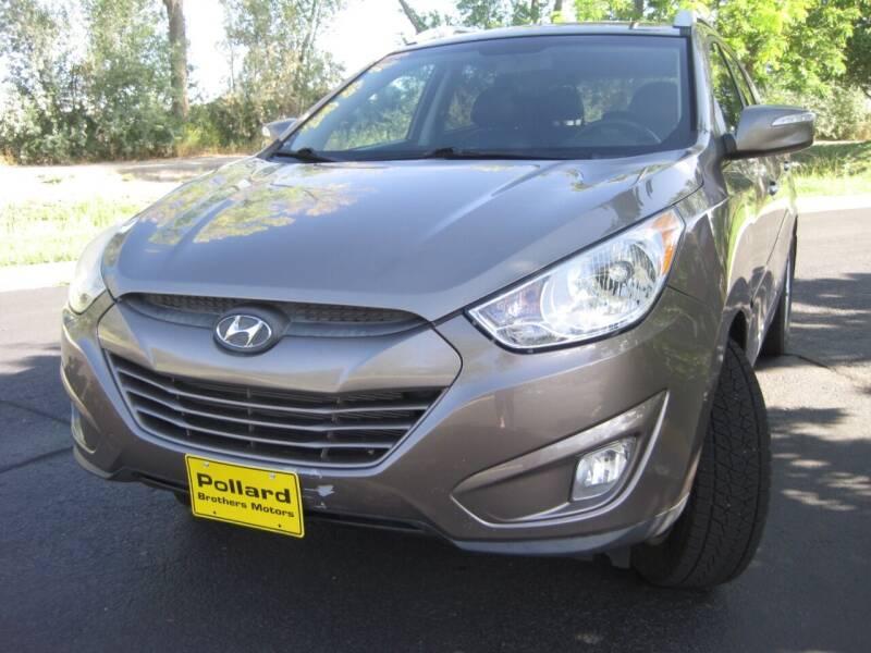 2013 Hyundai Tucson for sale at Pollard Brothers Motors in Montrose CO