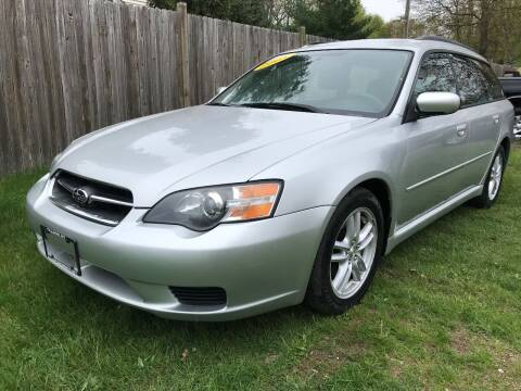 2005 Subaru Legacy for sale at ALL Motor Cars LTD in Tillson NY