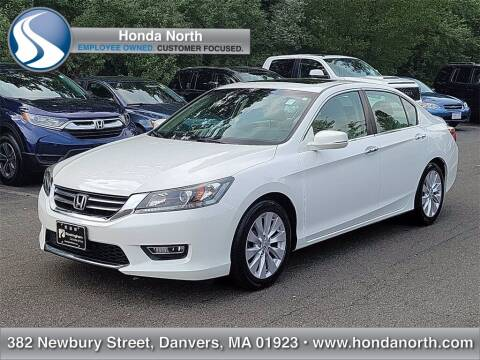 2013 Honda Accord for sale at 1 North Preowned in Danvers MA