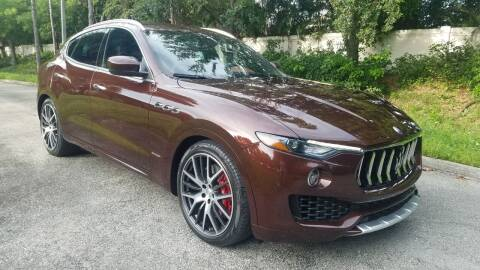 2018 Maserati Levante for sale at DELRAY AUTO MALL in Delray Beach FL
