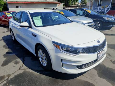 2018 Kia Optima for sale at Rey's Auto Sales in Stockton CA