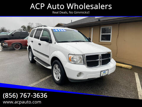 2008 Dodge Durango for sale at ACP Auto Wholesalers in Berlin NJ