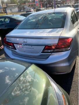 2015 Honda Civic for sale at Bay Motors Inc in Baltimore MD