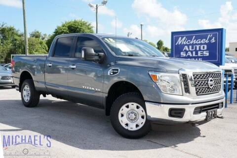 2018 Nissan Titan XD for sale at Michael's Auto Sales Corp in Hollywood FL