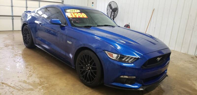 2017 Ford Mustang for sale at COOPER AUTO SALES in Oneida TN