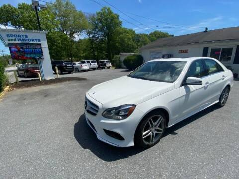 2015 Mercedes-Benz E-Class for sale at Sports & Imports in Pasadena MD