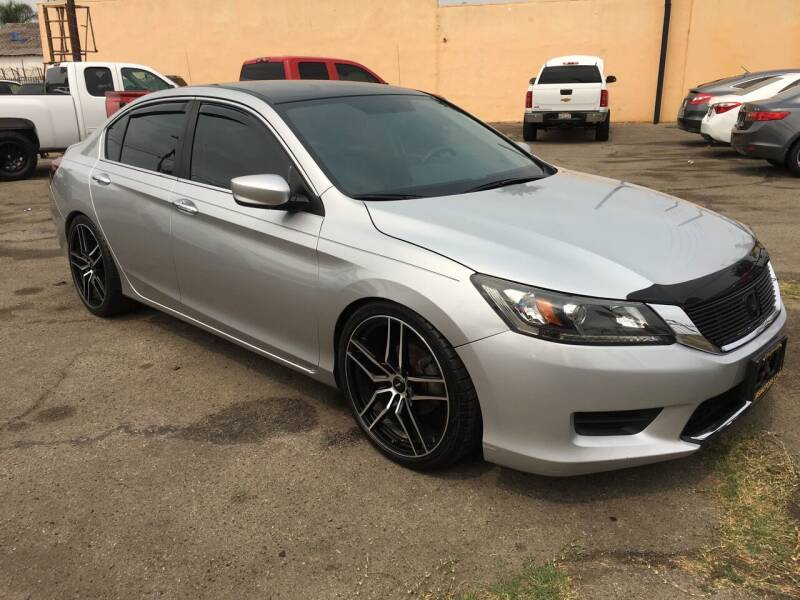 2014 Honda Accord for sale at JR'S AUTO SALES in Pacoima CA