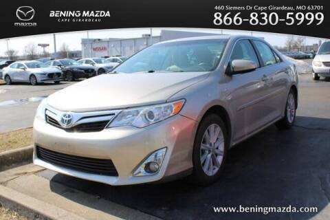 2013 Toyota Camry Hybrid for sale at Bening Mazda in Cape Girardeau MO