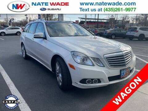 2011 Mercedes-Benz E-Class for sale at NATE WADE SUBARU in Salt Lake City UT