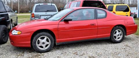 2005 Chevrolet Monte Carlo for sale at PINNACLE ROAD AUTOMOTIVE LLC in Moraine OH