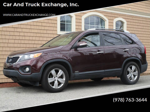 2013 Kia Sorento for sale at Car and Truck Exchange, Inc. in Rowley MA