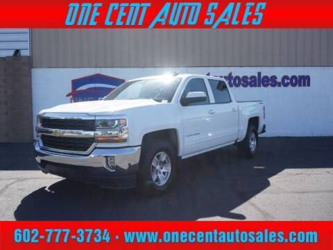 2016 Chevrolet Silverado 1500 for sale at One Cent Auto Sales in Glendale AZ