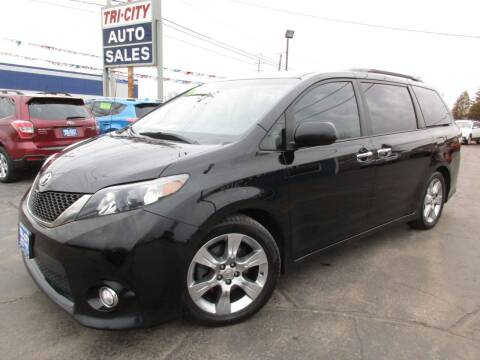 2013 Toyota Sienna for sale at TRI CITY AUTO SALES LLC in Menasha WI