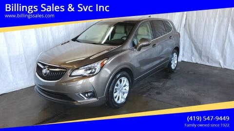 2019 Buick Envision for sale at Billings Sales & Svc Inc in Clyde OH