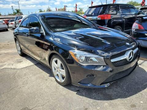 2016 Mercedes-Benz CLA for sale at America Auto Wholesale Inc in Miami FL