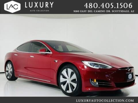 2021 Tesla Model S for sale at Luxury Auto Collection in Scottsdale AZ