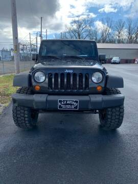 2008 Jeep Wrangler for sale at RHK Motors LLC in West Union OH