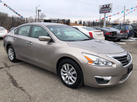 2014 Nissan Altima for sale at SKY AUTO SALES in Detroit MI