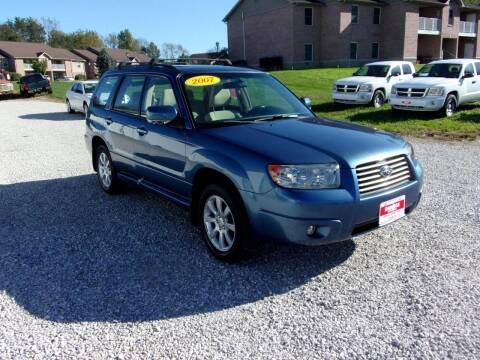 2007 Subaru Forester for sale at BABCOCK MOTORS INC in Orleans IN