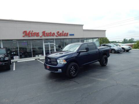2012 RAM Ram Pickup 1500 for sale at Mira Auto Sales in Dayton OH