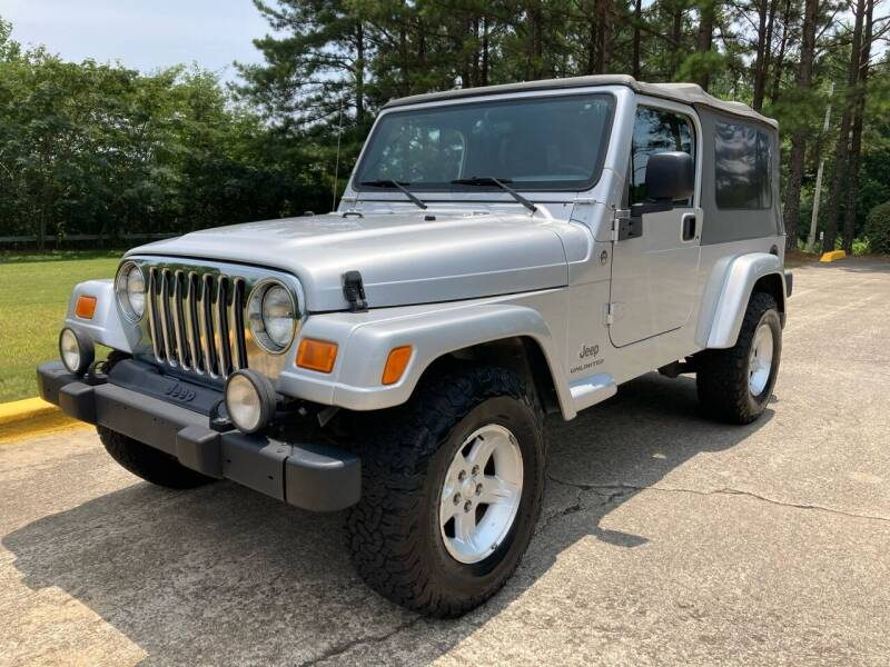 2005 Jeep Wrangler for sale at Selective Imports in Woodstock GA