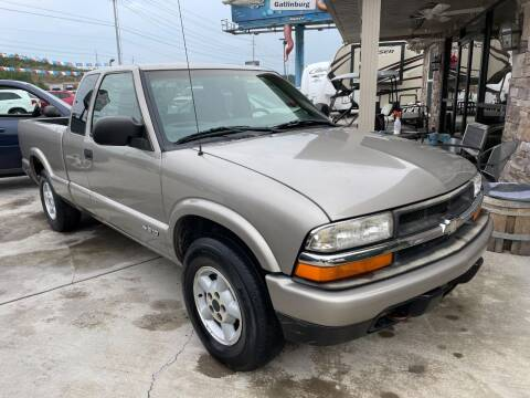2003 Chevrolet S-10 for sale at Autoway Auto Center in Sevierville TN