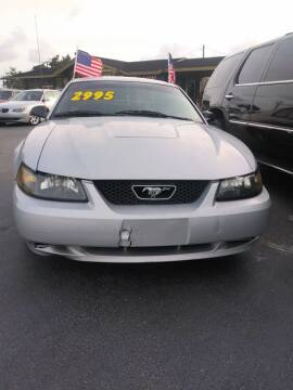 2004 Ford Mustang for sale at Celebrity Auto Sales in Port Saint Lucie FL