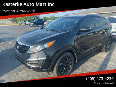 2014 Kia Sportage for sale at Kasterke Auto Mart Inc in Shawnee OK