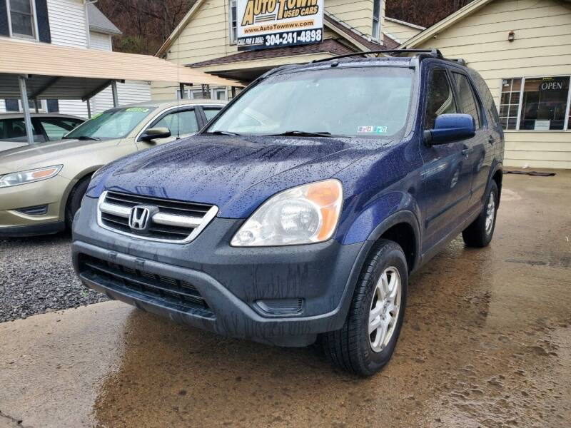 2004 Honda CR-V for sale at Auto Town Used Cars in Morgantown WV