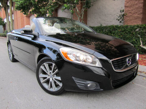 2012 Volvo C70 for sale at FLORIDACARSTOGO in West Palm Beach FL