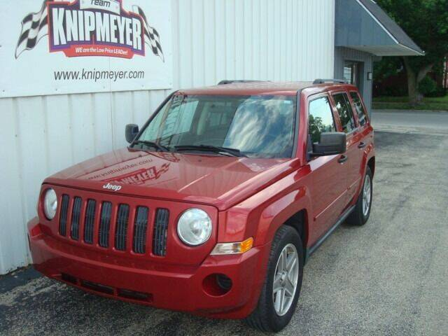 2008 Jeep Patriot for sale at Team Knipmeyer in Beardstown IL