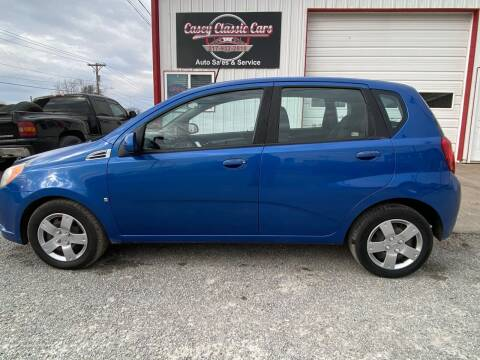 2009 Chevrolet Aveo for sale at Casey Classic Cars in Casey IL