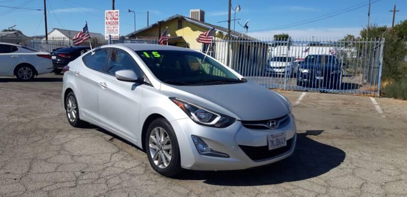 2015 Hyundai Elantra for sale at Autosales Kingdom in Lancaster CA