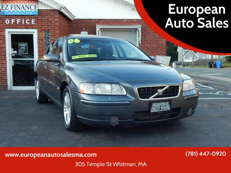 2006 Volvo S60 for sale at European Auto Sales in Whitman MA
