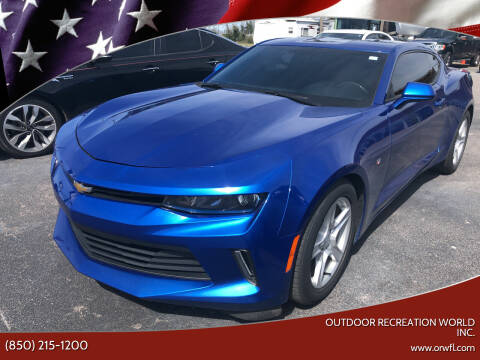 2017 Chevrolet Camaro for sale at Outdoor Recreation World Inc. in Panama City FL