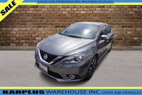 2017 Nissan Sentra for sale at Karplus Warehouse in Pacoima CA