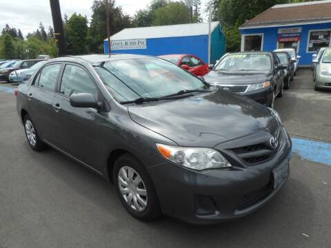 2011 Toyota Corolla for sale at Lino's Autos Inc in Vancouver WA