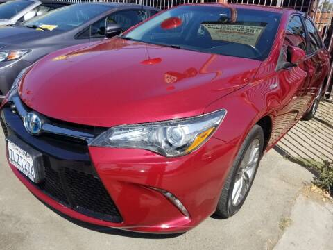 2015 Toyota Camry Hybrid for sale at Ournextcar/Ramirez Auto Sales in Downey CA