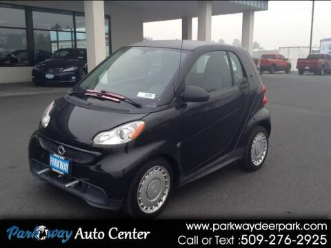 2013 Smart fortwo for sale at PARKWAY AUTO CENTER AND RV in Deer Park WA