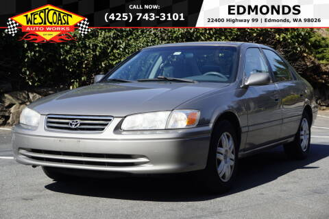 2001 Toyota Camry for sale at West Coast Auto Works in Edmonds WA