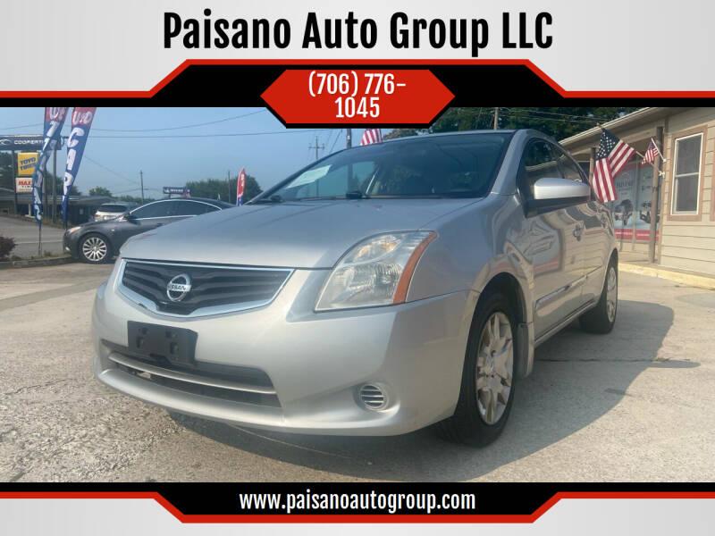 2012 Nissan Sentra for sale at Paisano Auto Group LLC in Cornelia GA