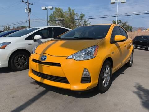 2014 Toyota Prius c for sale at Berge Auto in Orem UT