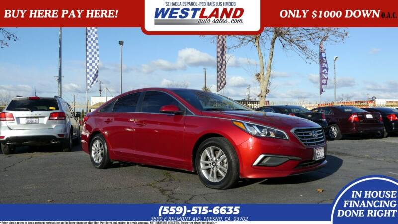 2016 Hyundai Sonata for sale at Westland Auto Sales on 7th in Fresno CA