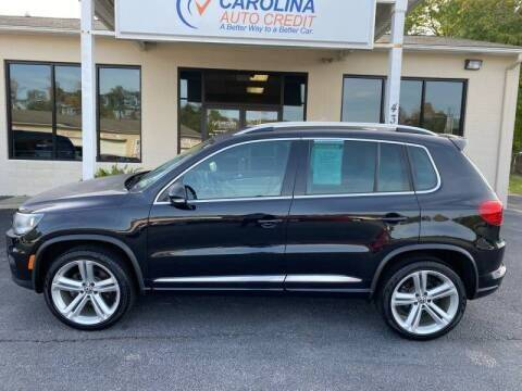 2016 Volkswagen Tiguan for sale at Carolina Auto Credit in Youngsville NC