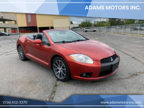 2012 Mitsubishi Eclipse Spyder for sale at Adams Motors INC. in Inwood NY