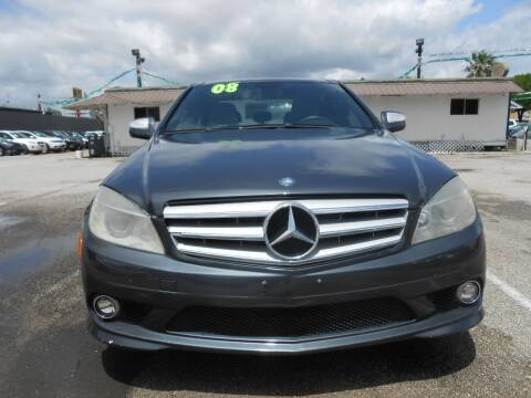 2008 Mercedes-Benz C-Class for sale at SOUTHWAY MOTORS in Houston TX