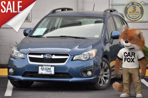 2012 Subaru Impreza for sale at JDM Auto in Fredericksburg VA